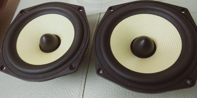 B&W  5寸中低音喇叭,—標—支