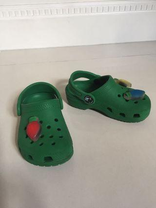 Toddler Shoes CROCS US Size 7 with lights