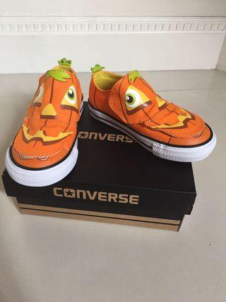 Toddler Shoes CONVERSE US Size 8 Halloween Pumpkin