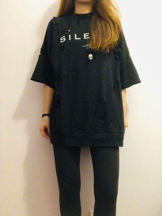 5cm oversized T-shirt