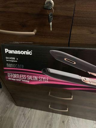 Panasonic Nanoe Hair Straighter