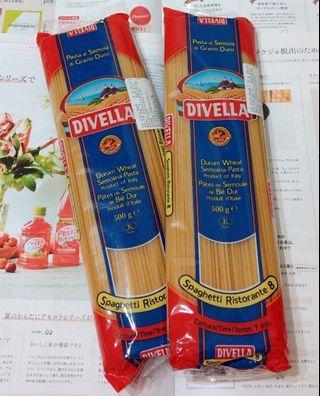 DIVELLA 德威樂義大利麵 直麵D8-2包入