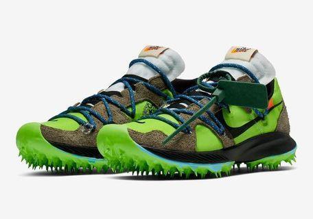 🚚 Nike Offwhite Terra Kiger Green