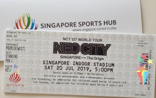 WTS NCT 127 Neocity Pen C tickets