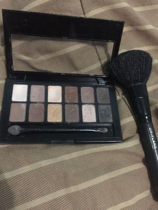 The Nudes Maybelline Eyeshadow Free Brush 50.000 FREE ONGKIR JABODETABEK