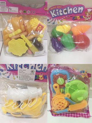 fruits & kitchen set toy