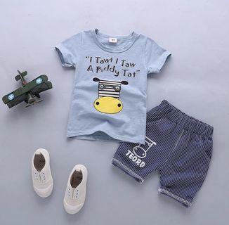 [READY STOCK]Boy Shirt & Pants