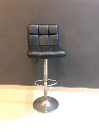 PU leather adjustable Barstools