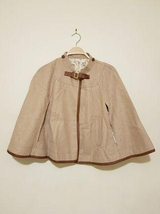 Winter poncho coat