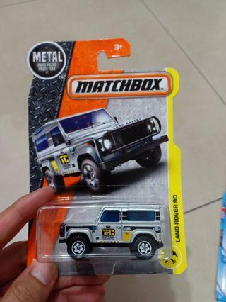 CPL - Land Rover 90 matchbox