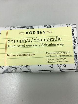 Korres natural pure Greek soap