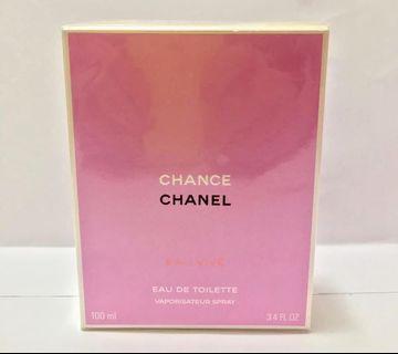 全新Chanel Chance Eau Vive EDT 淡香水 100ml