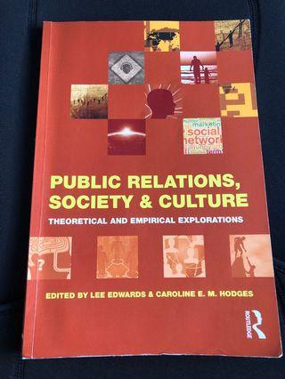🚚 Public relations, society & culture