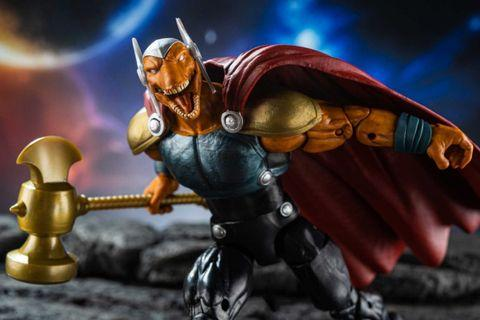 LOWEST PRICE IN CAROUSELL! VERY RARE & HOT! PRE ORDER LAST PIECE!! New Hasbro Marvel Legends Avengers Endgame Wave 2 Beta Ray Bill Figure without Professor Hulk Heads BAF parts For SALE!!