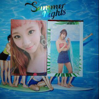 🚚 [WTT/WTS] Twice Summer Nights Photocards
