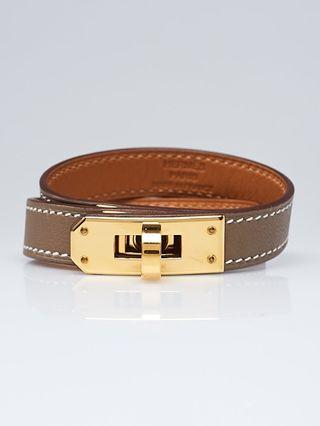 Hermes Kelly Double Tour Etoupe bracelet