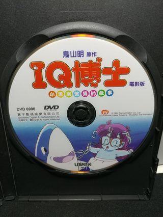 中古 DVD 小雲與鯊魚的故事 鳥山明 Dr.Slump IQ博士 電影版