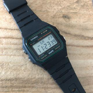 🚚 [✅FREE Shipping]: ✅💯Authentic Casio Classic Digital Watch F-91W-3 - Green