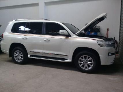 Toyota Land Cruiser Platinum Edition Bulletproof