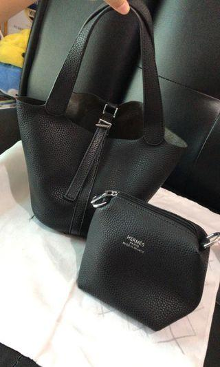 #maugopay tas hermes + dompet