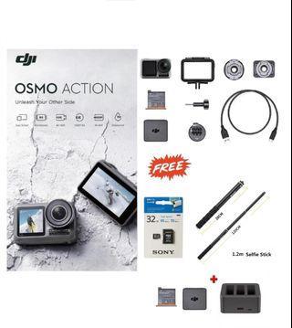 DJI Osmo Action vs Gopro 7 Go pro vs Osmo Pocket vs Insta360 One X Insta EVO
