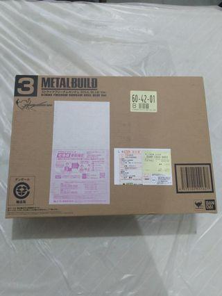 日版 Metal build Strike Freedom Gundam soul blue ver.