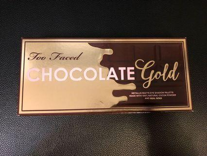 Too Faced Chocolate Gold Eyeshadow Palette 眼影