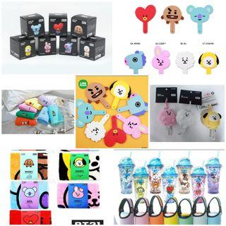 🚚 BTS BT21 OFFICIAL items /new items (free items given)