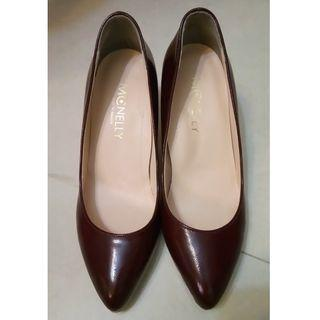 McNelly 深紅色高跟鞋 Dark Red Heels