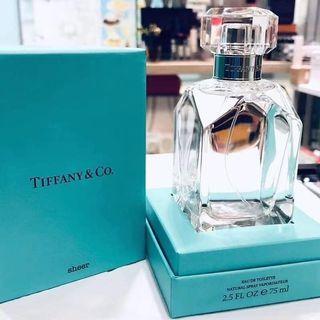 2019年2月推出 🇫🇷Tiffany & Co. Sheer EDT蒂芙尼同名淡香水