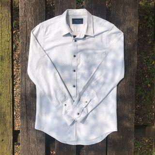Grey Formal Shirt/ Top