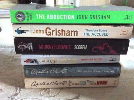 Mystery thriller books bundle