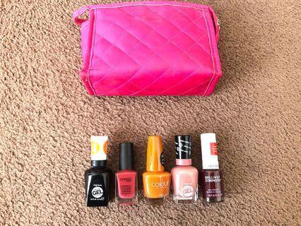Nail Polish 💅 5 colors