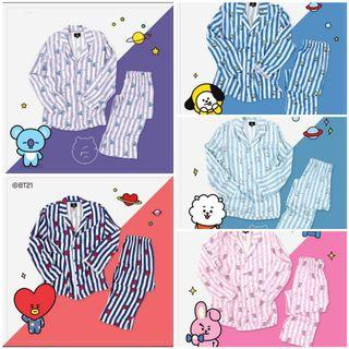 🚚 BTS BT21 UNOFFICIAL pajamas