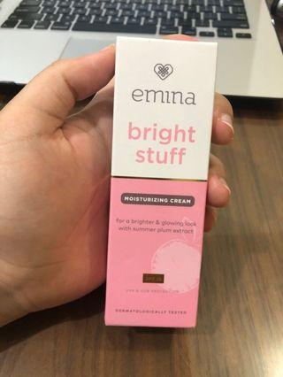 Emina bright stuff moisturizing cream