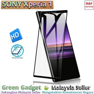 SONY Xperia 1 Full Glue Screen Protector Tempered Glass 玻璃膜