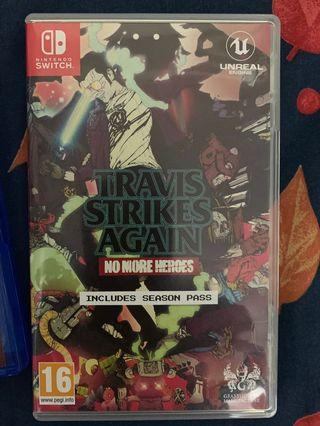 Nintendo Switch 遊戲 Travis Strikes Again (已開)