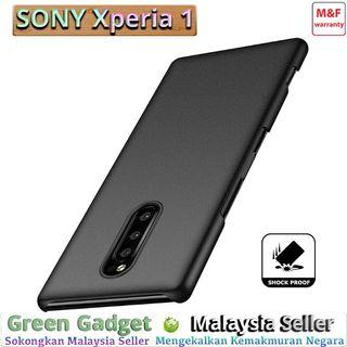 SONY Xperia 1 Case Cover Thin Fit Hard 硬壳(Black)