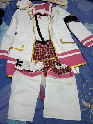 Kostum Cosplay Rin Hoshizora Nurse Ver.