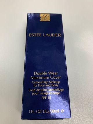 Estee Lauder Double Wear Maximum Cover Camouflage Makeup for Face and Body SPF 15 雅詩蘭黛雙重遮瑕粉底