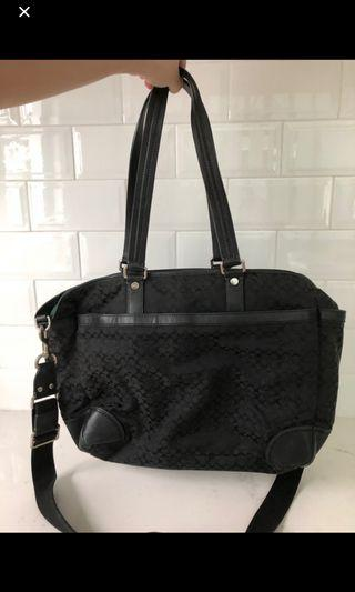 50% OFF listing price!! Coach Diaper Bag with sling