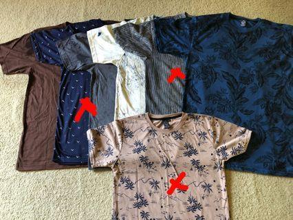 Kaos basic look like zara import bkk