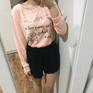 Peach Coffee Sweater
