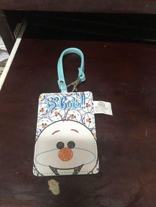 Disney TsumTsum snowman雪人 cardholder 八達通套