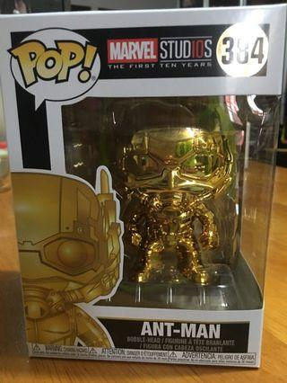 現貨 Disney Marvel Avengers Funko Pop Gold Ant man 迪士尼漫威復仇者聯盟金蟻俠