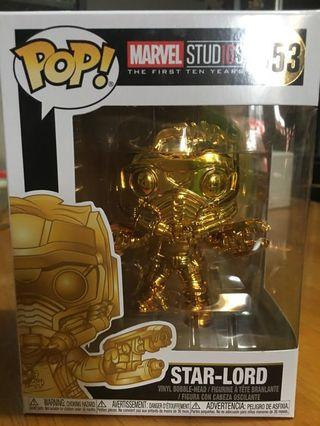 現貨 Disney marvel avengers Funko pop gold star lord 迪士尼漫威復仇者聯盟星爵