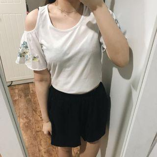 Embroidery Floral Tshirt