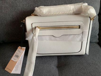 Rebecca Minkoff Avery Crossbody Optic White