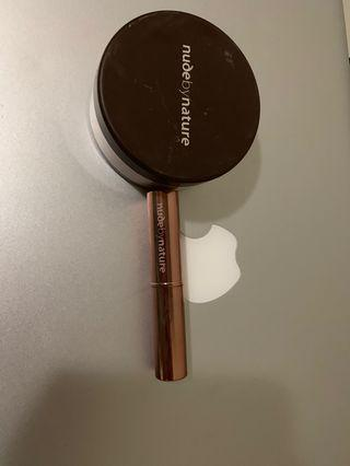 Nude by nature mineral cover foundation and concealer