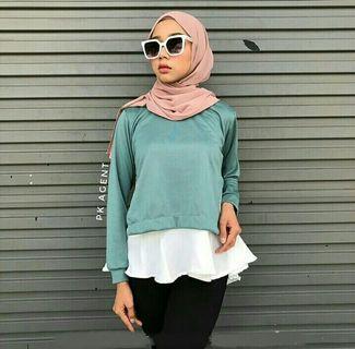 Basic blouse plain